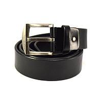 Мужской кожаный ремень KB 40-03 черный