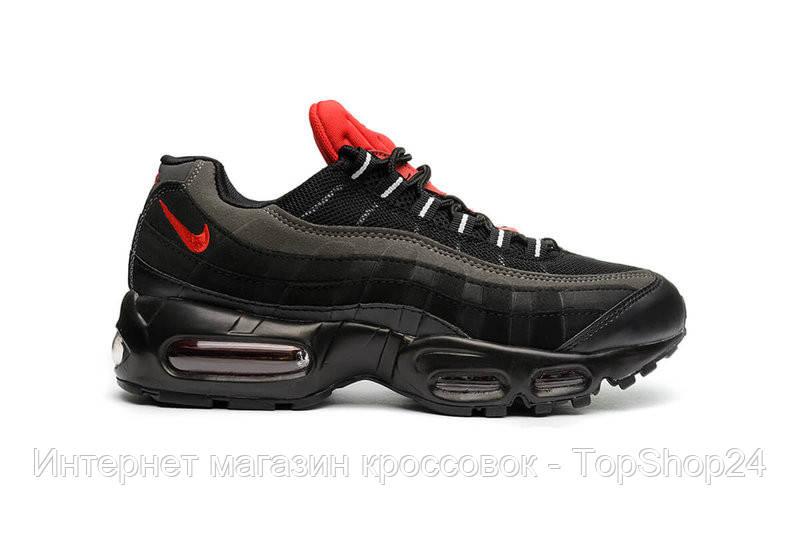 Кроссовки  мужские  Nike Air Max 95 Essential 'Black/Challenge Red'