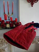 Жилет для ребенка унисекс красный  р.104