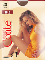 Колготы CONTE SOLO 20ден (nero, bronz, shade, natural) (2; 3; 4)