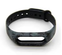 Силиконовый ремешок для фитнес-браслета Xiaomi Mi Band 2 - Khaki