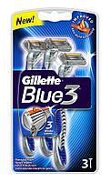 Бритвы одноразовые Gillette Blue 3 (3 шт)