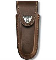 4.0538 Чехол Victorinox поясной коричневый кожаный