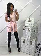 Комбинезон женский с поясом