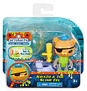 Игрушка Октонавты кот Квази Fisher-Price Octonauts Kwazii & the Slime Eel, фото 5