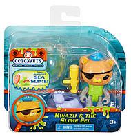 Игрушка Октонавты Квайзия Fisher-Price Octonauts Kwazii & the Slime Eel