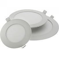 Круглые потолочные светодиодные LED панели