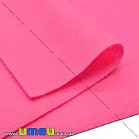 Фетр мягкий 1,3 мм, 30х30 см, 530 Розовый, 1 шт (FLT-019486)