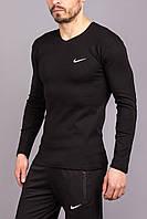 Мужская черная обтягивающая кофта Nike