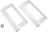 Комплект ручек двери холодильника Electrolux 960018281 для холодильника