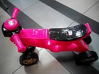 Беговел, велобег розовый