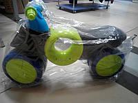 Велобег, беговел синий