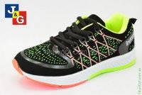 Яркие модные детские кроссовки на шнурках для  мальчика  р-ры 32, 34, ТМ Jong Golf