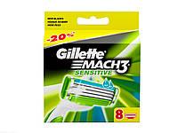 Сменные картриджи для бритья Gillette Mach 3 Sensitive (8 шт)