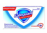 SAFEGUARD антибактериальное мыло Классическое Ослепительно Белое 125г