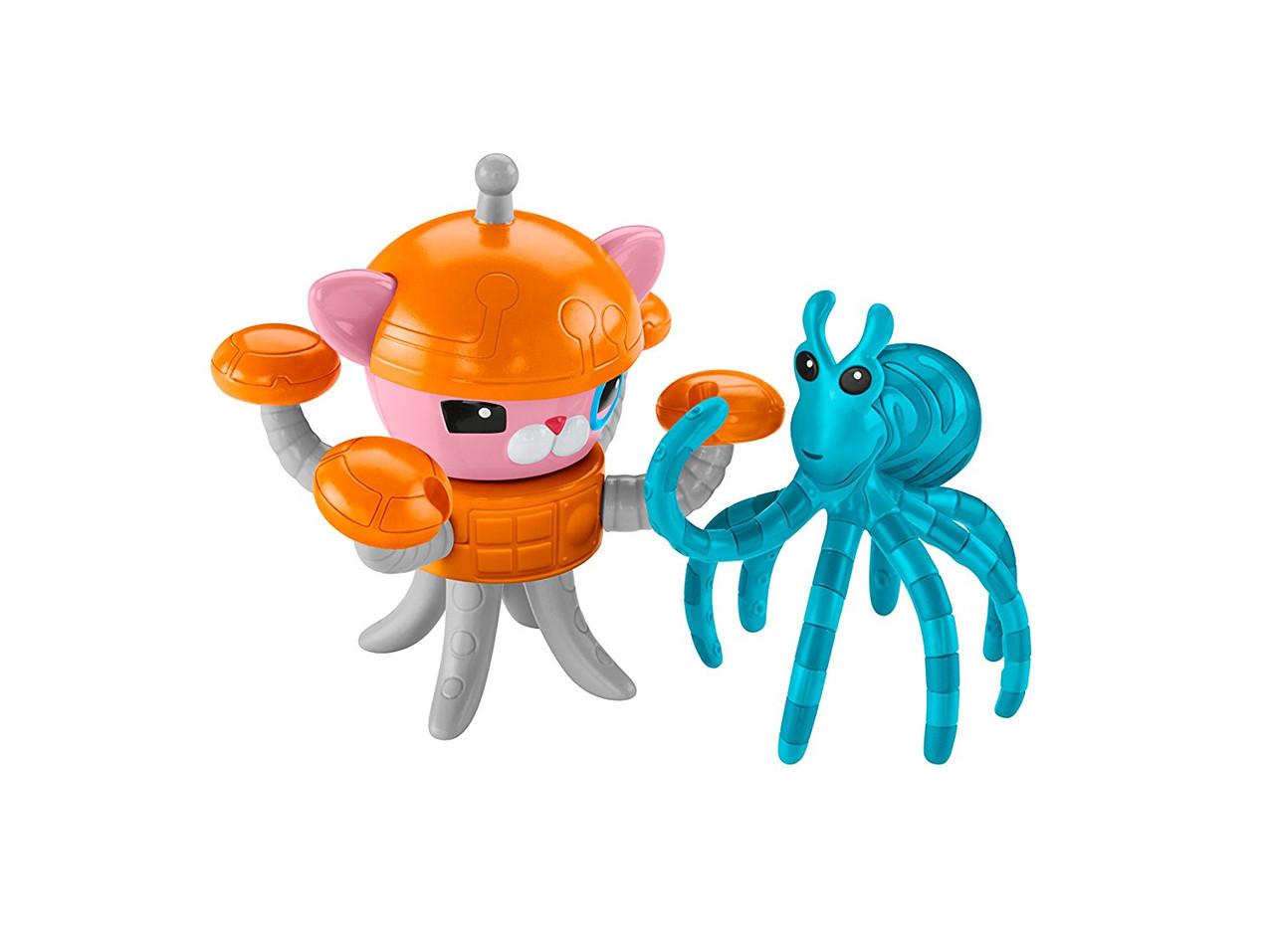 Игрушка Октонавты Инклинг Fisher-Price Octonauts Inkling & the Mimic Octopus, фото 1