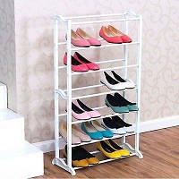 Органайзер стойка для обуви Amazing Shoe Rack на 21 пару (Эмейзинг Шу Рек), фото 1