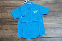 Катоновая рубашка для мальчиков 8- лет