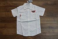 Катоновая рубашка для мальчиков 10- 16 лет