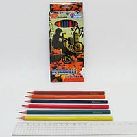 "Карандаши пластиковые ""Extreme"" 12 цв., в картоне, европ. J. Otten"
