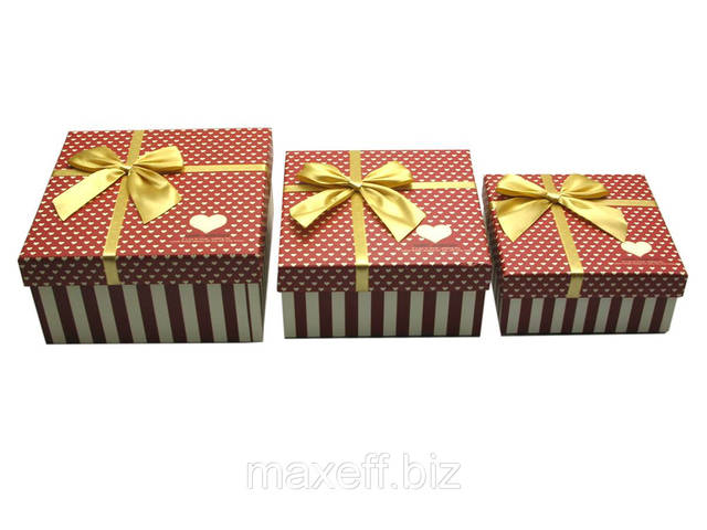 Квадратная подарочная коробочка