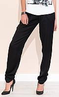 Женские брюки Fulki Zaps черного цвета, коллекция весна-лето 2017.