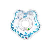 Круг для купания малыша Капелька прозрачный