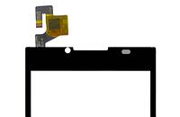 Сенсор,тачскрин телефона Doogee DG2014, черный