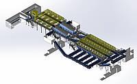 Сортировочная линия ТБО (сортировка мусора)