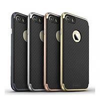 Чехол-накладка + бампер iPaky для iPhone 7 Gold