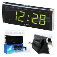Часы сетевые VST-730 220В led alarm clock