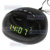 Электронные цифровые Часы + Радио VST-901 сетевые от 220 вольт