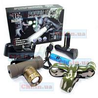 Налобный фонарик BL-6855 Bailong Cree XPE Q5 с аккумулятором 18650