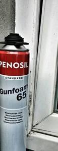 Пена монтажная Penosil Standard 65L PRO (Серый баллон) 840 мл