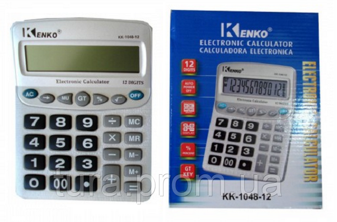 """Калькулятор KENKO KK 1048 - Интернет магазин """"TURAprom"""" в Одессе"""