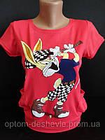 Подростковые футболки на лето для девочек., фото 1
