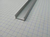 Профиль наружный алюминиевые  для  Led ленты ( анодированый)