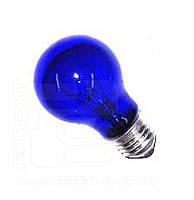 Синяя лампочка на 60Вт для рефлектора Минина., фото 2