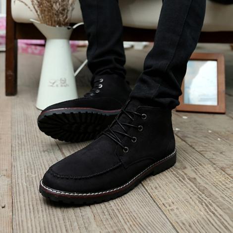 Мужские кожаные ботинки. Модель 2217