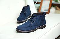 Мужские кожаные ботинки. Модель 2217, фото 2