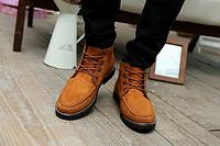 Мужские кожаные ботинки. Модель 2217, фото 3