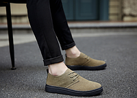 Мужские кожаные ботинки. Модель 2217, фото 4
