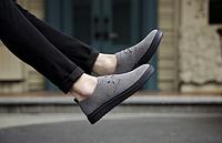Мужские кожаные ботинки. Модель 2217, фото 6