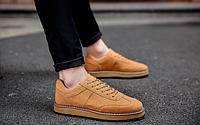 Мужские кожаные ботинки. Модель 2217, фото 9