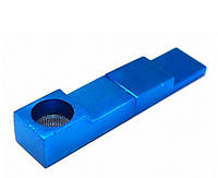 "Трубка алюминиевая ""Магнит"" L = 7,4см. Синяя"