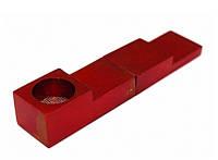 """Трубка алюминиевая """"Магнит"""" L = 7,4см. Красная"""