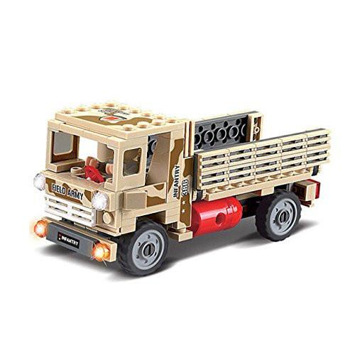 Конструктор военная машина из 183 элементов, 84027