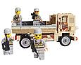 Конструктор военная машина из 183 элементов, 84027, фото 2