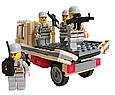 Конструктор военная машина из 183 элементов, 84027, фото 3