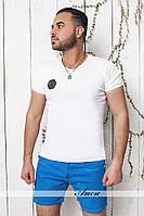 Мужские короткие джинсовые шорты